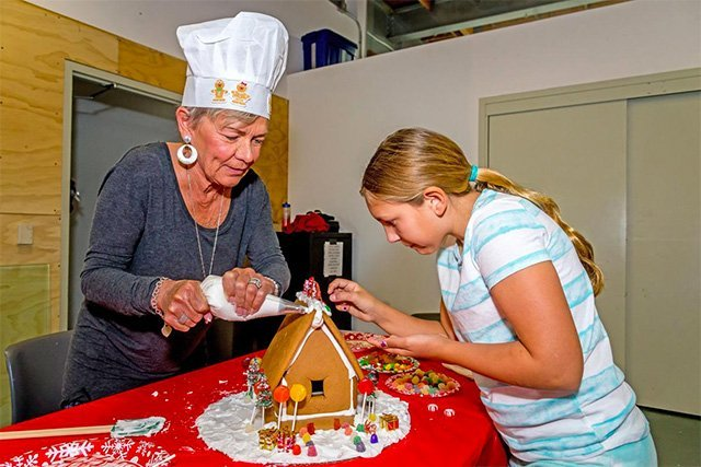 Gingerbread Workshop Featured in The Beach Reporter
