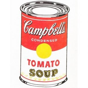 Tomato Soup by Andy Warhol